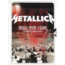 METALLICA - Orgullo, Pasion, Y Gloria - 2 CDS+2DVDS