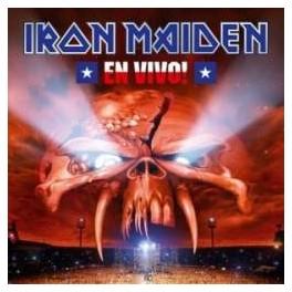 IRON MAIDEN - En Vivo! - 2-CD