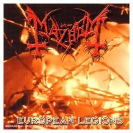 MAYHEM - European Legions - CD