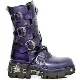BOTTES NEW ROCK N°373-S7 Lila Taille 40