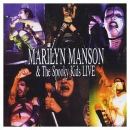 MARILYN MANSON & SPOOKY KIDS - LIVE - CD