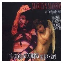 MARILYN MANSON & SPOOKY KIDS - Word according to Manson - CD