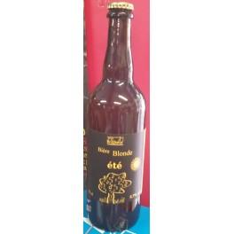 Bière Blonde de Pont d'Ain ' ÉTÉ ' 75cl