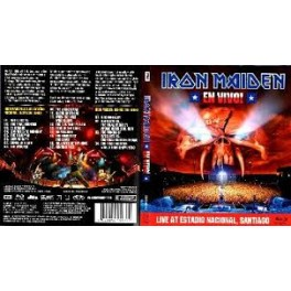 IRON MAIDEN - En Vivo! - 2-DVD Box Metal