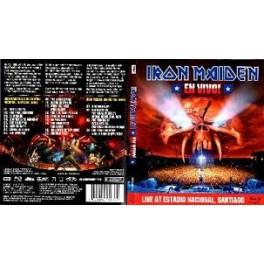IRON MAIDEN - En Vivo! - 2-DVD