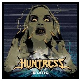 HUNTRESS - Static - CD Digi