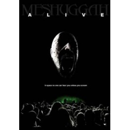MESHUGGAH - Alive - CD+DVD