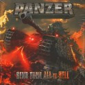 (THE GERMAN) PANZER - Send them all to Hell - 2-LP