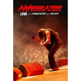ANNIHILATOR - Live at Masters of Rock - DVD+CD