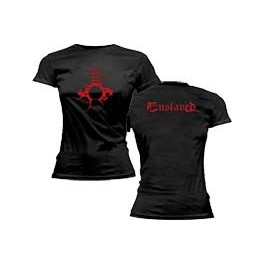 ENSLAVED - Red Logo & Symbol - TS GIRLY