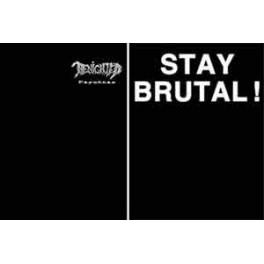 BENIGHTED - Logo pocket / Stay Brutal - LS