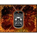 DOG TAG - AMON AMARTH  - Bearded Skulls
