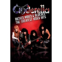 CINDERELLA - Rocked Wired & Bluesed : The Greatest Video Hits - DVD