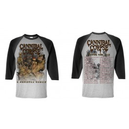 CANNIBAL CORPSE - A Skeletal Domain Winter Tour 2015 - LS Raglan