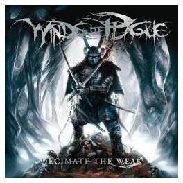 WINDS OF PLAGUE - Decimate The Weak - CD Digi