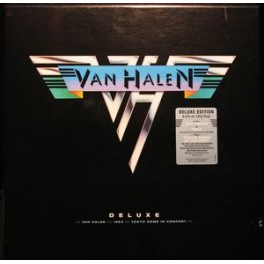 VAN HALEN - Deluxe - Box 6-LP