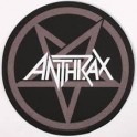 ANTHRAX - Pentagram - Dossard