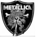 Patch METALLICA - Raiders Skull