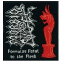 Patch MORBID ANGEL - Formulas Fatal To The Flesh