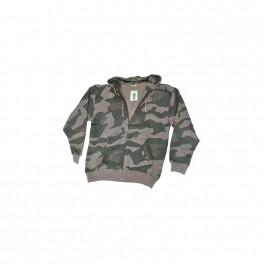 COMMANDO INDUSTRIES - Russian Camo - Zip Hood