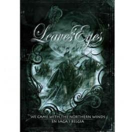 LEAVES' EYES - We Came With The Northern Winds - En Saga I Belgia - 2-DVD + 2-CD