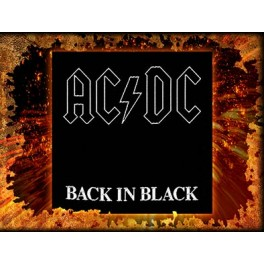 Patch AC/DC - Back in Black