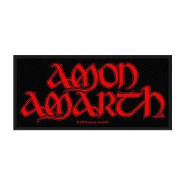 Patch AMON AMARTH - Red Logo