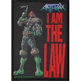 Patch ANTHRAX - I Am The Law