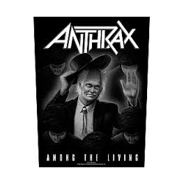 ANTHRAX - Among The Living - Dossard