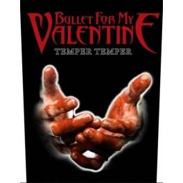 BULLET FOR MY VALENTINE - Temper Temper - Dossard