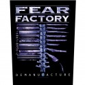 FEAR FACTORY - Demanufacture - Backpatch