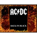 AC/DC - Back In Black - Dossard