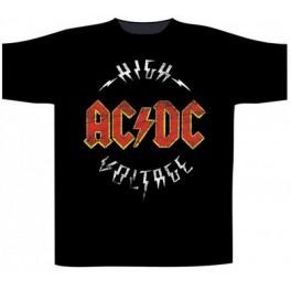 AC/DC - High Voltage Circle Logo - TS