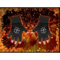AVENGED SEVENFOLD - Death Bat - Embroidered Gloves