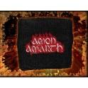 AMON AMARTH - Red Flame Logo - Bracelet Eponge