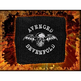 AVENGED SEVENFOLD - Death Bat - Bracelet Eponge