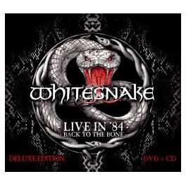 WHITESNAKE - Live In '84 - Back To The Bone - CD + DVD Ltd Digi