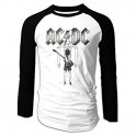AC/DC - Flick Of The Switch - LS Raglan