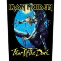 IRON MAIDEN - Fear Of The Dark - Dossard