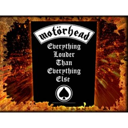 MOTORHEAD - Everything Louder Than Everything Else - Dossard