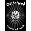 MOTORHEAD - Victoria Aut Morte 1975-2015 - Drapeau
