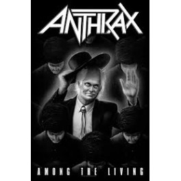 ANTHRAX - Among The Living - Drapeau
