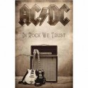 AC/DC - In Rock We Trust - Drapeau
