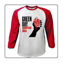 GREEN DAY - American Idiot - LS Raglan