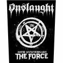 ONSLAUGHT - 30Th Anniversary The Force - Backpatch