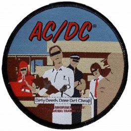 Patch AC/DC - Dirty Deeds Done Dirt Cheap