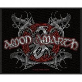 Patch AMON AMARTH - Viking Dog