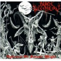 BLACK WITCHERY - Upheaval Of Satanic Might - CD