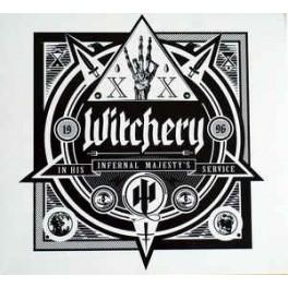 WITCHERY - In His Infernal Majesty's Service - CD Digi