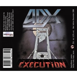 ADX - Execution - Beer 33cl 5.3° Alc